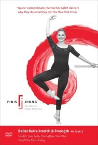 Ballet Barre Stretch & Strength with Finis Jhung and Melissa Elstein, Instructional Ballet Video